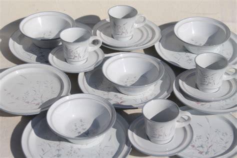 japanese pattern dinnerware noritake woodstock pattern dinnerware set for 4 vintage