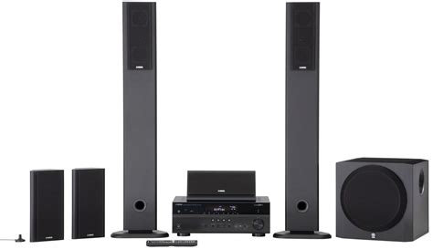 consists  complete home theater system