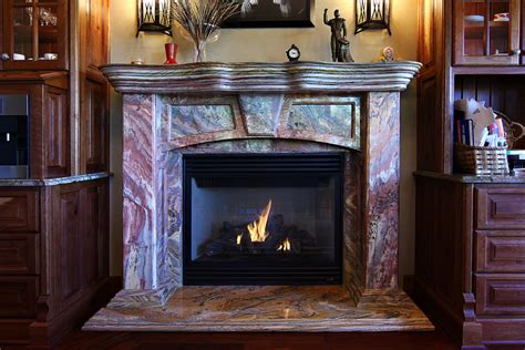 Fireplace With Granite Surround by Fireplace Granite Surround Mantle Debeer Granite