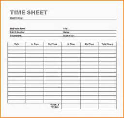 simple weekly timesheet template 5 word timesheet template paradochart