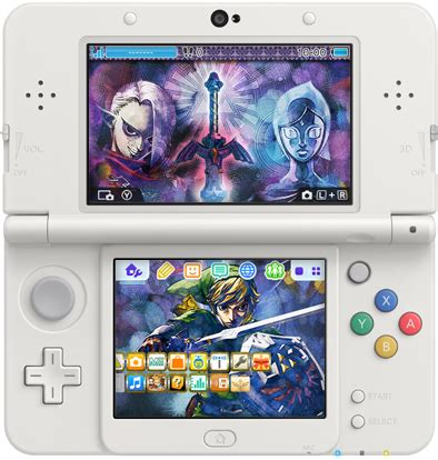 tumblr themes zelda zelda skyward sword 3ds theme out now in japan nintendo