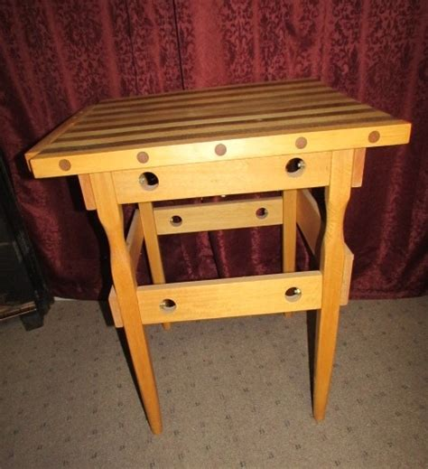 custom made butcher block lot detail custom made butcher block table with
