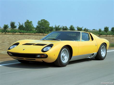 Miura Lamborghini Lamborghini Miura Cool Car Wallpapers