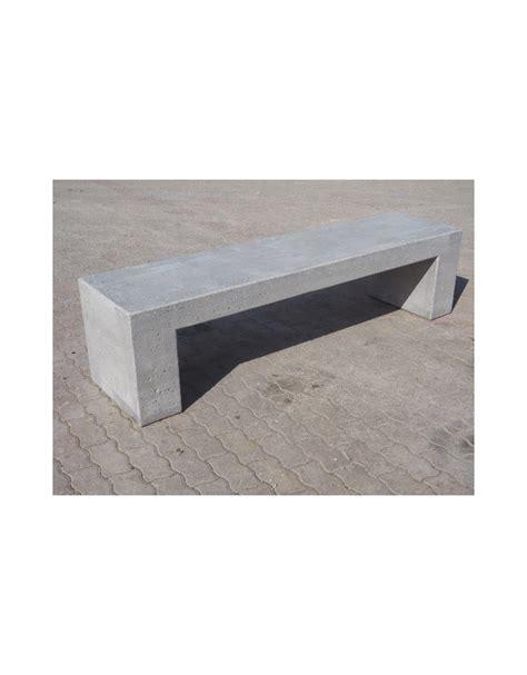 Panchine In Cemento Prezzi - panchina rettangolare monoblocco in cemento grigio pietra
