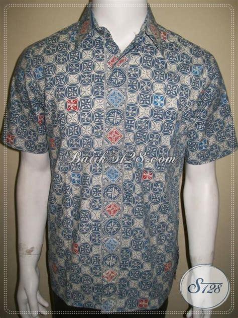 Kemeja Hem Batik Pria Wayang Duet Abu Abu batik cap pria warna abu abu batik dijual ld353cc m toko batik 2018