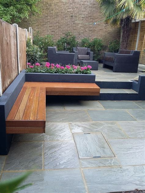 raised garden bed with bench seating 2005 best images about gardens on raised beds