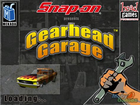 Gearheads Garage by Snap On Presents Gearhead Garage The