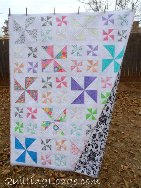 Quilt Pattern Pinwheel by Pinwheel Quilt Orchid Owl Quilts