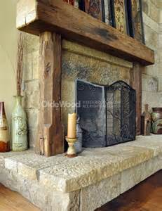 rustic fireplace mantels barn beam fireplace mantels our