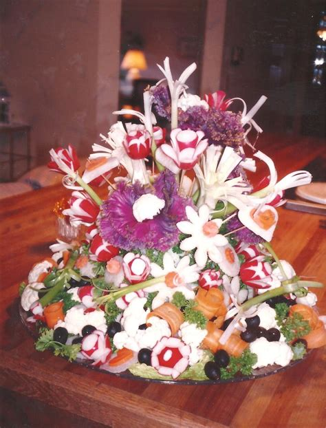 43 best fruit and vegetable centerpiece ideas images on