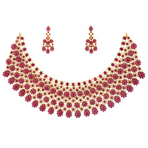 Collection of Precious Ruby Jewelry for Women