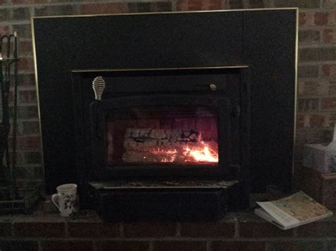 how does wood burning fireplace insert work fireplaces