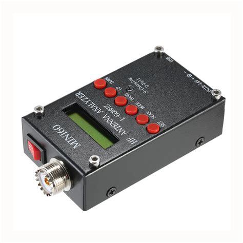 mini60 1 60mhz hf swr antenna analyzer meter for ham radio hobbists v0t5 x9a2 192948006135 ebay