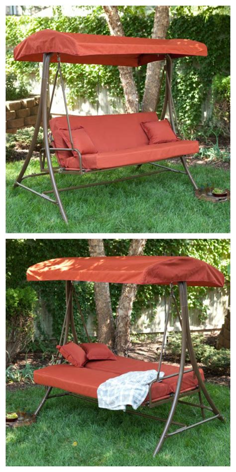 Swing Bed With Canopy Best 25 Canopy Swing Ideas On The Canopy Cool Stuff And Swinging