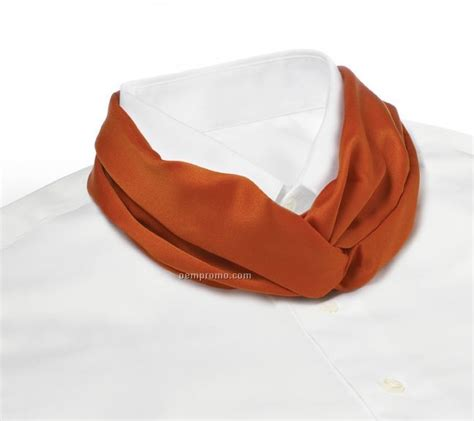 Limited List Cardi Orange Promo wolfmark solid series polyester satin velcro band knot