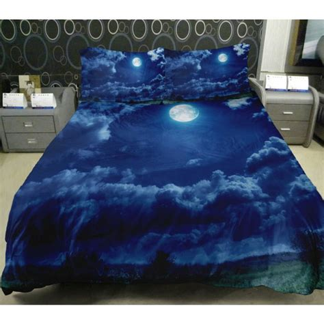 space bed sheets amazon com anlye galaxy quilt cover galaxy duvet cover