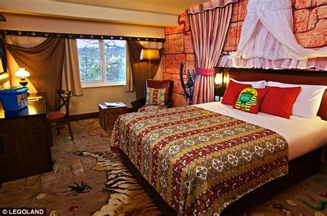 themed hotel rooms california legoland opens first hotel in california daily mail online