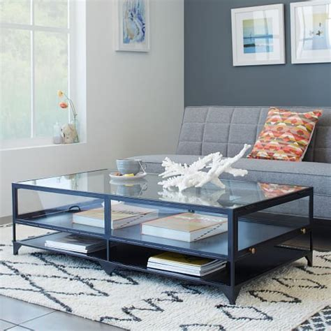 see through coffee table best 25 shadow box coffee table ideas on