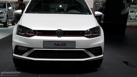 volkswagen polo 2015 white 2015 volkswagen polo gti powers up in time for paris live
