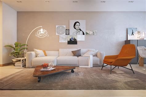 modern and stylish apartment interior design from pavel the best arrangement of apartment decorating ideas with