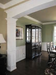 Dining Room Molding Ideas by Dining Room With Custom Millwork Archway Chair Rail And