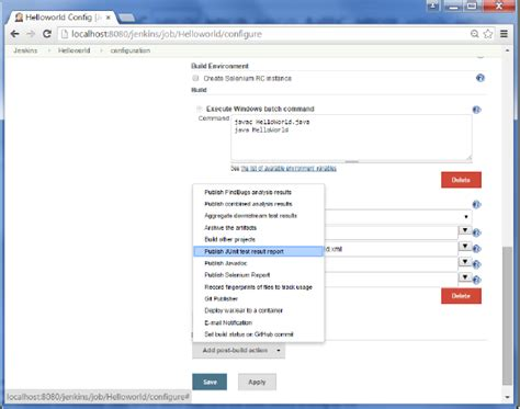 tutorialspoint junit jenkins unit testing