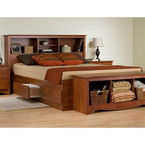 18 best beds with bookcase headboards images on