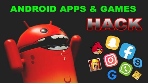 hacked android hack any android apps using an android app no root 2017 nine hacks