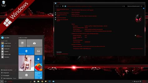 download themes untuk pc alienware red theme for windows 8 free download free