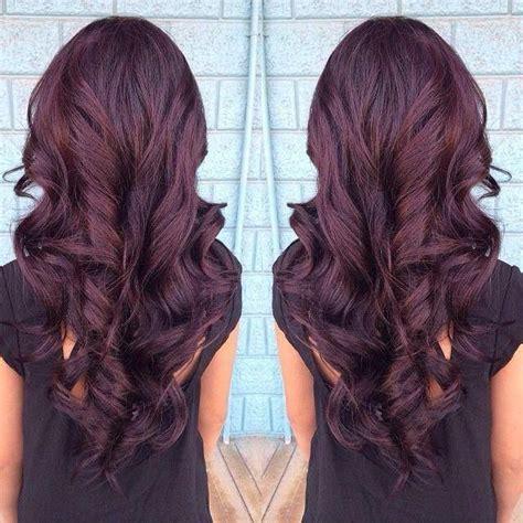 pinterest rich violets reds browns long hair i have red purple violet hair cheveux pinterest
