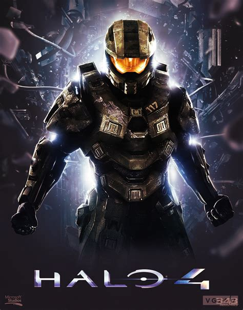 Halo 4 Poster Kayu 30x22 halo 4 revised poster by sashi0 on deviantart