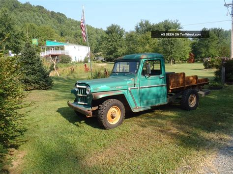 willys jeep truck 1963 willys jeep truck