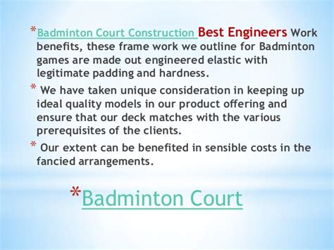 Mba In Quality Management In Chennai by Badminton Court Contractors In Chennai Trichy Coimbatore
