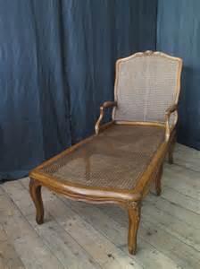 walnut bergere chaise longue circa 1780 antiques