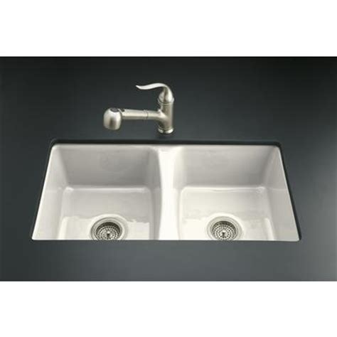 Kohler Kitchen Sinks Home Depot by Kohler Deerfield Undercounter Kitchen Sink In Biscuit Home Depot Canada Ottawa