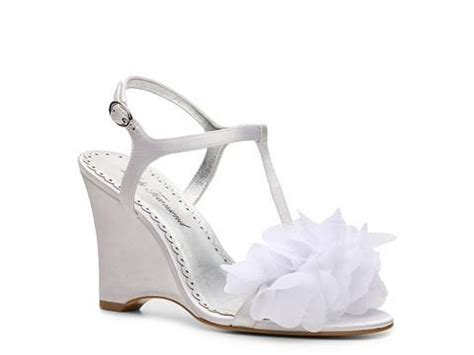 white wedge wedding shoes i m getting married