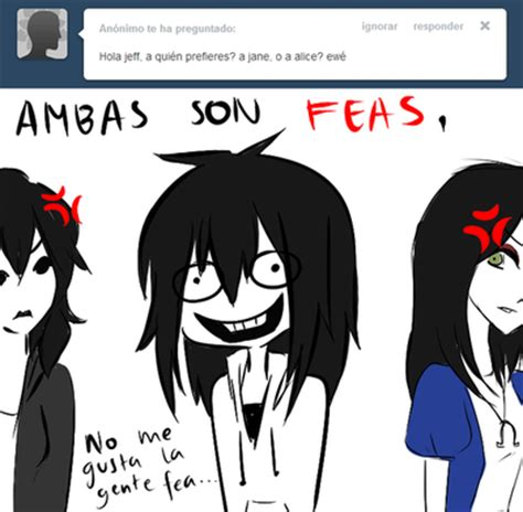 jeff the killer vs chica image about anime in jeff the killer by odalys yamileth