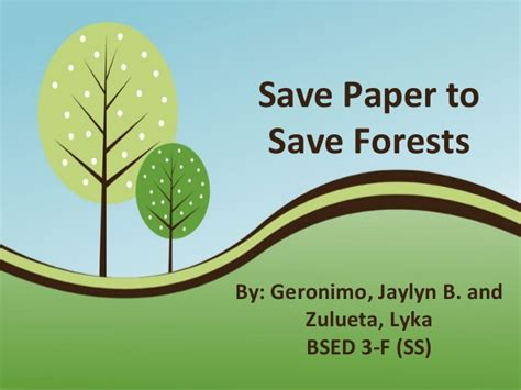 Save paper | Term paper Help