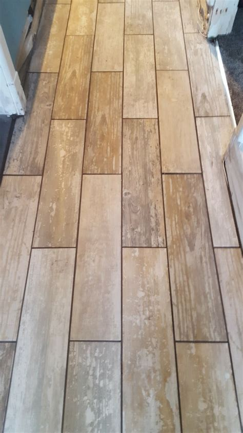 Grouting Tile Floors by Grouting Porcelain Floor Tiles In East Cheshire