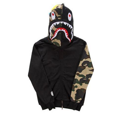 Sweater Jaket A Bathing Bape fashion brand mens clothing bape shark hoodies