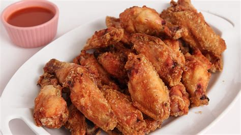 crispy baked chicken wings recipe dishmaps
