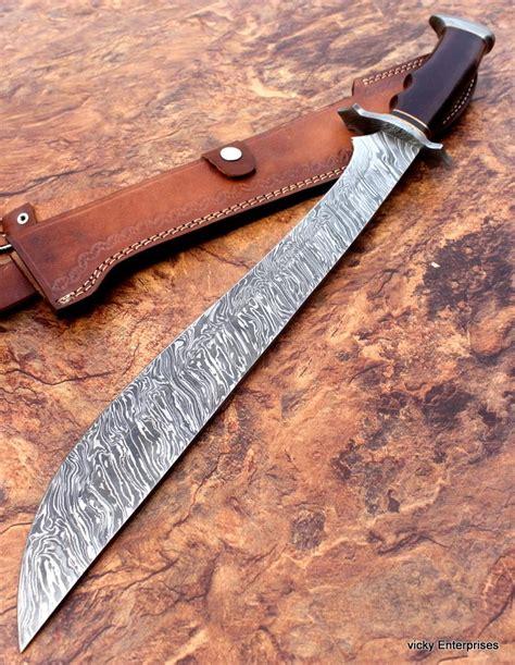 damascus sword handmade knife machete 22 50 inches