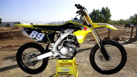 motocross action 250f first ride 2017 suzuki rmz 250 motocross action magazine