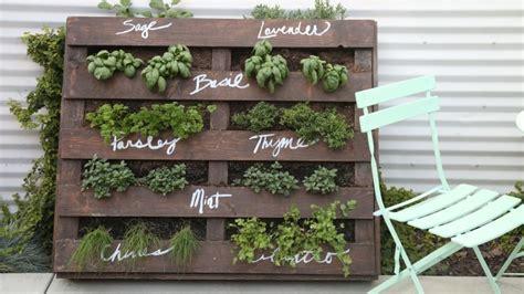 diy wood pallet herb garden cbc life