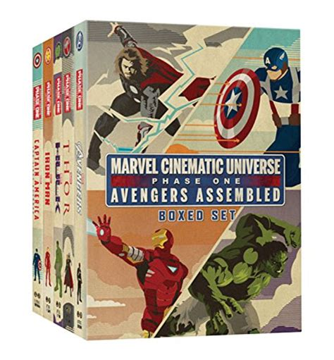 one books marvel cinematic universe phase one book boxed set