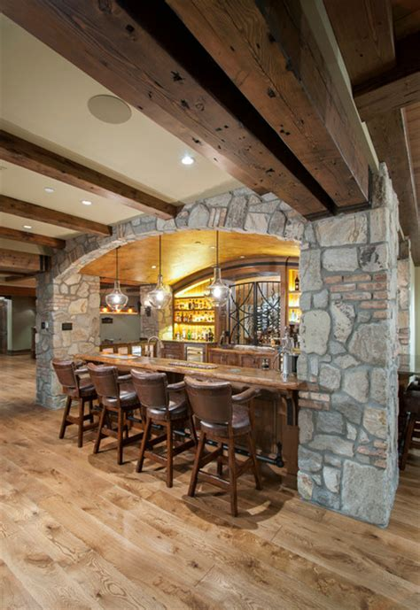 home decor langley fort langley rustic home bar vancouver by old