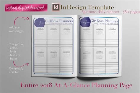 Daily Planner Pretty Fabulous Designs Blog Indesign Planner Template Free