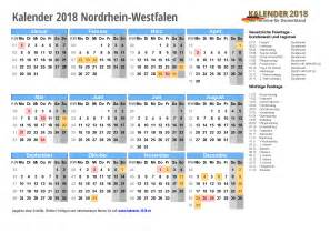 Kalender 2018 Nrw Vorlage Kalender 2018 Nrw Zum Ausdrucken 171 Kalender 2018