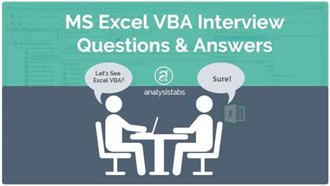 html tutorial questions answers ms excel vba interview questions and answers with exles