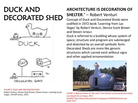 Duck Decorated Shed by Robert Venturi Works